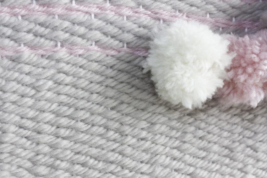 Tissage en laine mural