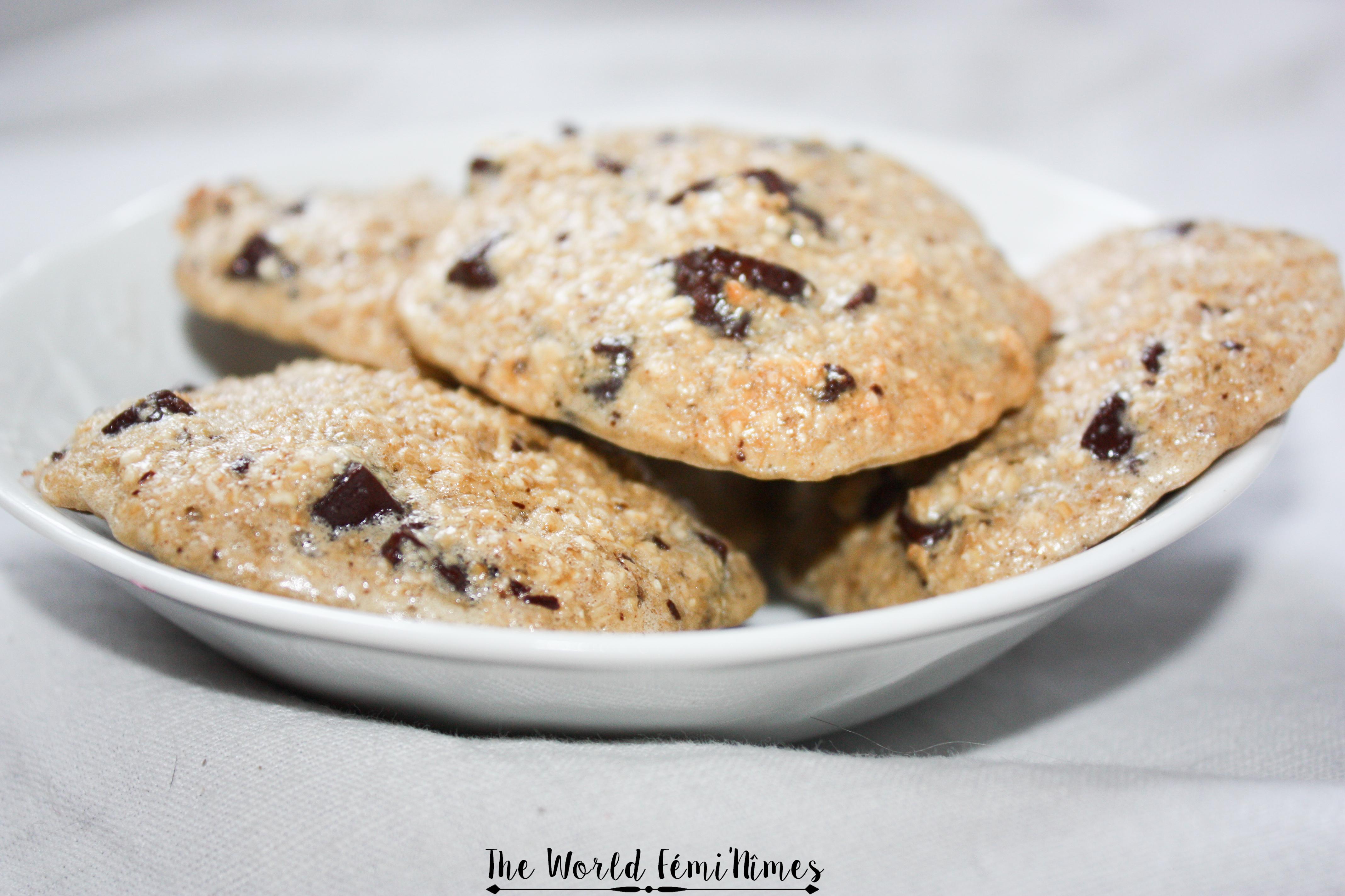 Cookies végétariens