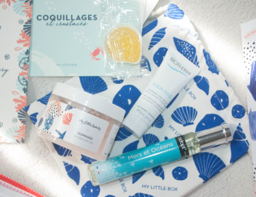 Coquillages de My Little box