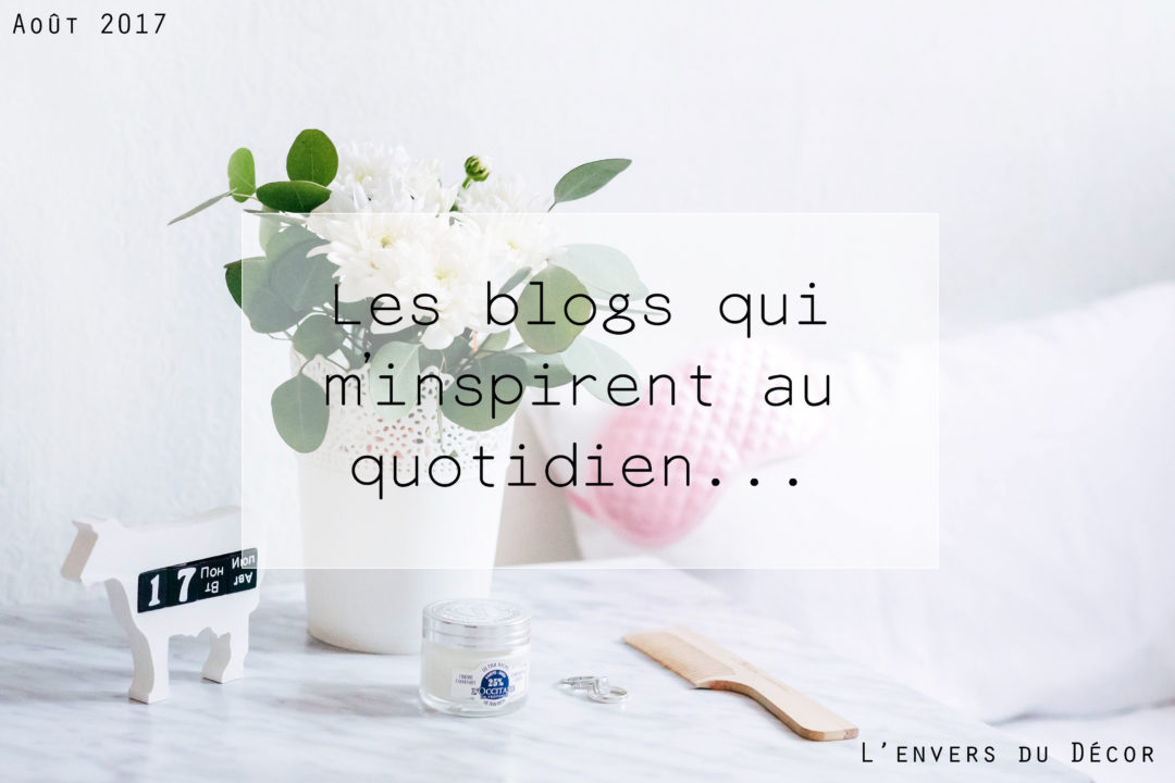 Les blogs qui m'inspirent