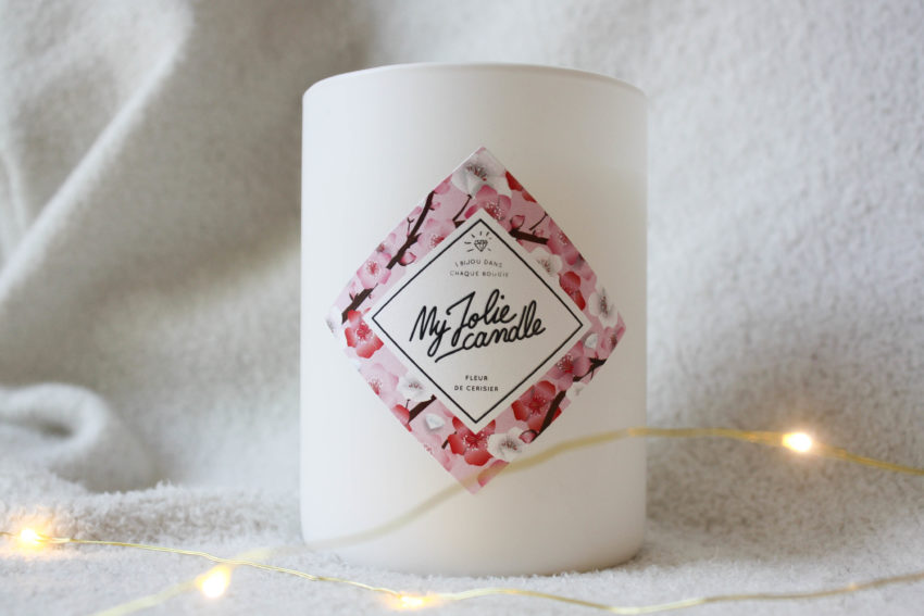 """My Jolie Candle senteur """"Fleur de Cerisier"""""""