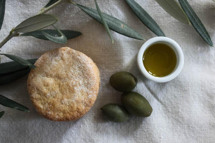 Sablés citron bergamote & huile d'olive