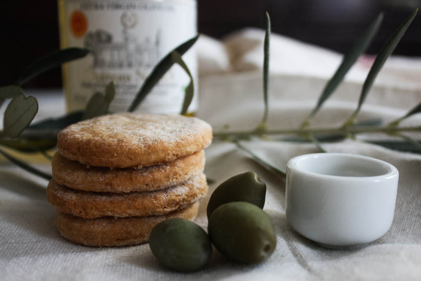 Sablés au citron bergamote & huile d'olive