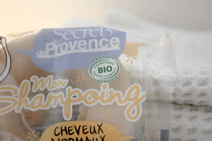 Shampoing solide, Secrets de Provence